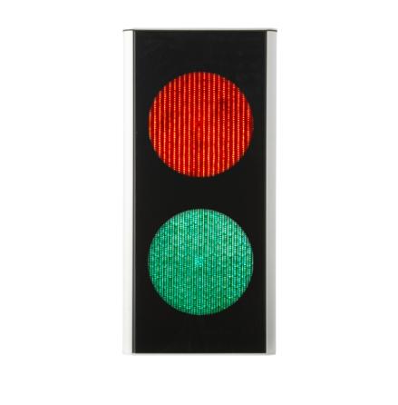 Green Light signal 200 mm 2-lys rød/grøn
