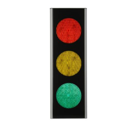 Green Light signal 200 mm 3-lys Standard