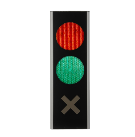 Green Light signal 200 mm 3-lys minus grøn
