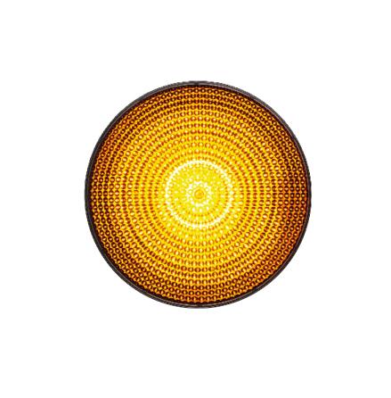 LED-indsats 100 mm gul