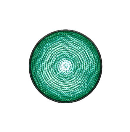 LED-indsats 100 mm grøn