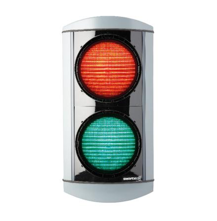 Alustar 200 mm 2-lys rød/grøn M8