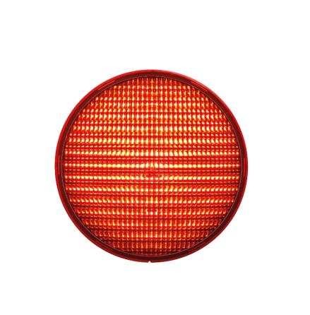 LED-indsats 200 mm rød