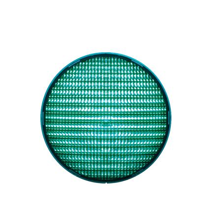 LED-indsats 200 mm grøn