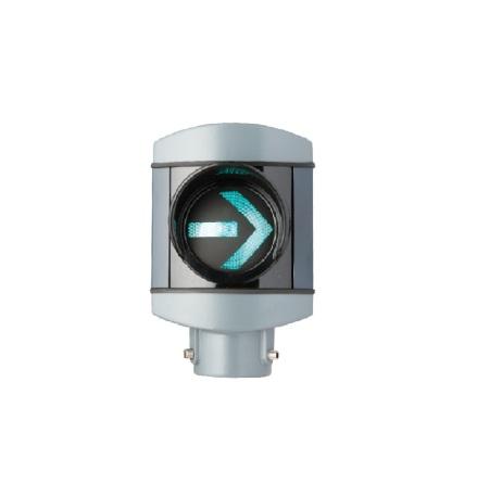Alustar 100 mm. 1-lys m. H-pil med AGA beslag