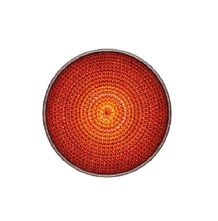 LED-indsats 100 mm rød