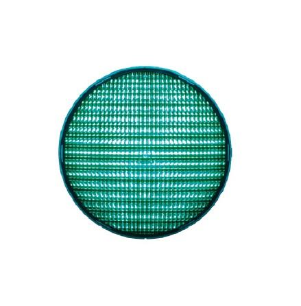 Linse grøn 200 mm