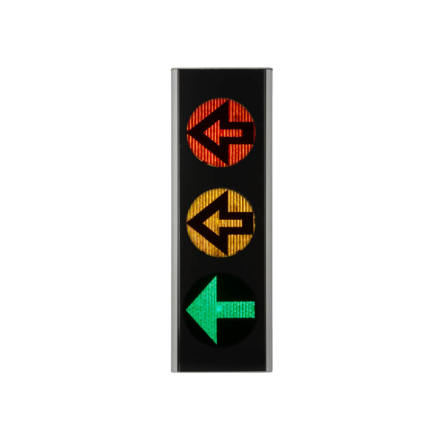 Green Light signal 200 mm 3-lys m. pil
